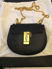 Amazing Chloe Mini Drew Bag In Black - 100% Genuine