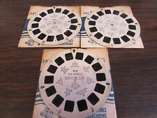 THE CHRISTMAS STORY -  VIEW MASTER SET XM1, XM2, XM3 - 1948 - SET OF 3