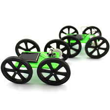F17927 Solar Powered DIY Car Kit 4WD Smart Robot Car Chassis Green Energy Toy