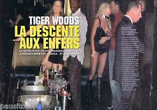 COUPURE DE PRESSE CLIPPING 2009 Tiger Woods   (4 pages)
