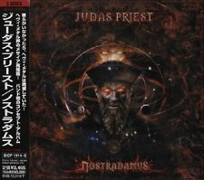 "JUDAS PRIEST ""Nostradamus"" 2 x CD import Japan w/obi Sony Music ‎– SICP 1914-5"