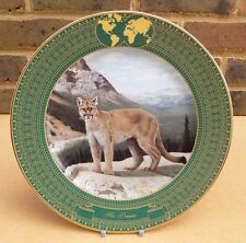 Frace's Kingdom of the Great Cats Collector Plate - His Domain