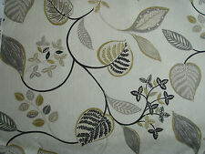"HARLEQUIN  CURTAIN FABRIC DESIGN ""Samara"" 14 METRES  SLATE OCHRE COFFEE & NEUTR"