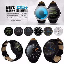 NO.1 D5+ Impermeabile 1GB RAM 8GB ROM Android 5.1 Heart Rate SIM WiFi SmartWatch