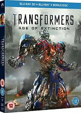 Transformers - Age of Extinction (3D Blu-ray, 3-Disc Set)