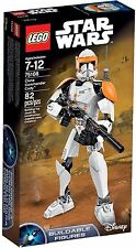 75108 CLONE COMMANDER CODY buildable figure star wars lego NEW legos set SEALED