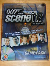 2005 Scene It? DVD Game Pack ~ 007 James Bond Edition ~  New!