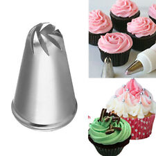 Rose Flower Spiral Icing Piping Cake Decor Tips Nozzle Cupcake Pastry Tools Kits