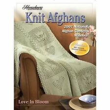 New Herrschners Knit Afghans 2007 National Afghan Award Winners Pattern Book