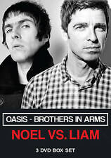 Oasis: Brothers in Arms - Noel Vs. Liam (DVD, 2015, 3-Disc Set)