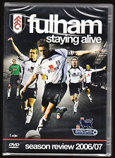 FULHAM FC - STAYING ALIVE - SEASON REVIEW 2006 / 7 (2007) - NEW & SEALED DVD