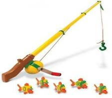 John Deere Electronic Fishing Pole with Fish Toy