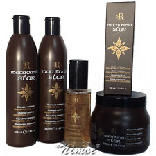 Macadamia Star Kit 2 x Shampoo 350ml + Fluid 100ml + Mask 500 RR Line ® Racioppi