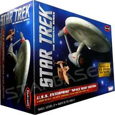 USS ENTERPRISE SPACE SEED EDITION - STAR TREK BAUSATZ / KIT Polar-Lights 1/1000