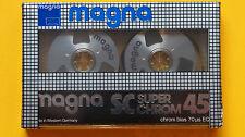 1x MAGNA SC Super Chrom 45 - Reel To Reel Cassette Tape 1984 + NEW & SEALED +