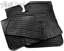 Rubber Black Floor Mats for Mercedes-Benz C-Class W202 1993-2001 LHD NEW
