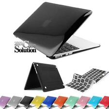 New Glossy see through Clear Hardshell Hard Case Keyboard Skin for Apple MacBook