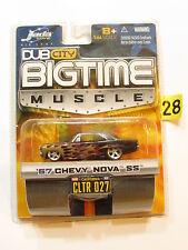 JADA DUB CITY BIGTIME MUSCLE '67 CHEVY NOVA SS 027