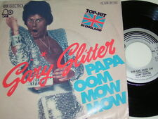 "7"" - Gary Glitter Papa oom mow mow & She Cat alley Cat - 1975 # 3370"