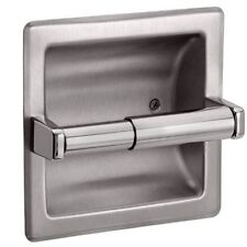 Recessed Toilet Paper Holder - Brushed Nickel