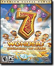 7 WONDERS 3 TREASURES OF SEVEN - Wonder III Mumbo Jumbo Puzzle PC Game - NEW BOX