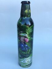Mountain Dew Aluminum Bottle Bubble Bum Girl Green Label Art Full Sealed 2009