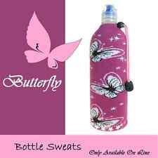 Butterfly Insulated Wine Beer Water Bottle Koozie Foldable Cooler Coozie Bag