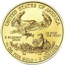 Monete d'oro 1/10 oz American Eagle 2017 zentel oz tenth ounce gold coin