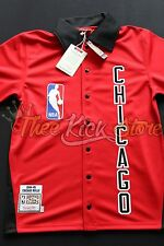 Michael Jordan Bulls 84-85 Rookie Red Mitchell & Ness Warmup Size 40 Medium New