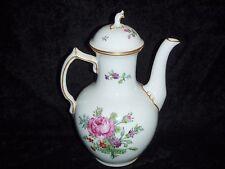 Coffee Pot by Royal Copenhagen Saxon Flower Pattern