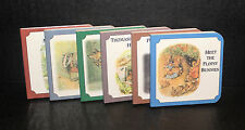 VINTAGE 1994 TREASURY OF PETER RABBIT SIX BOOKS BOX SET COLOR BEATRIX POTTER