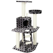 Cat Scratching Poles Post Furniture Tree House Condo Black Grey Shopiverse Deal