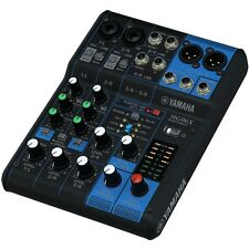 Yamaha MG06X 6-Channel Stereo Mixer with Effects **BRAND NEW** - Six-Input Mixer