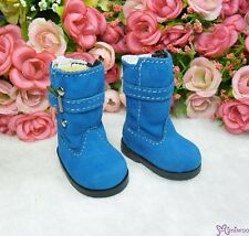 Mimi Collection Yo-SD 1/6 bjd Dollfie Leeke Doll Shoes Velvet Buckle Boots Blue