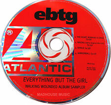 EVERYTHING BUT THE GIRL CD The Walking Wounded PROMO ONLY Sampler UNPLAYED