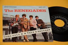 """7"""" 45 (NO LP ) RENEGADES UOMO SOLO 1°ST ORIG ITALY BEAT 1967 EX TOP COLLECTORS"""