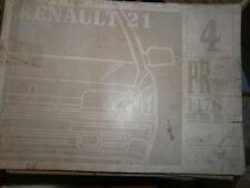 Renault 21 R21 hayon : catalogue pièces PR1176-4