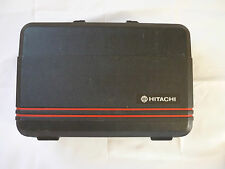 Hitachi electronics Black Hard case briefcase style Camcorder 1980s & extras