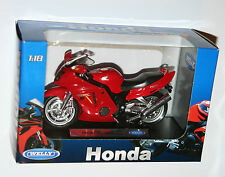 Welly - HONDA CBR1100XX (Red) Motorbike Model Scale 1:18