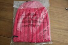 NWT Lululemon Blissed Out Toque Hat boom juice red pink ski merino wool soft