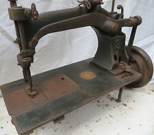 Antique SEWING MACHINE WHEELER & WILSON # 8 Serial no. 513089 dated 1878 Rarts