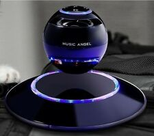 MUSIC ANGEL Floating Levitating Portable Wireless Bluetooth Speaker Black