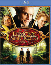 Lemony Snickets A Series of Unfortunate Events (Blu-ray Disc, 2014) - NEW!!