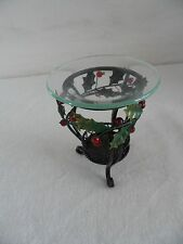 PartyLite Holly Lites Aroma Melts Warmer Candle Holder P9910