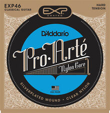 D'Addario EXP46 Coated Hard Tension Classical Guitar Strings