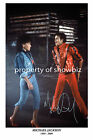 * MICHAEL JACKSON * Signed poster of the legend. Great memorabilia, large size!