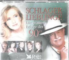 CD - Reader`s Digest - Schlager Lieblinge - erfolge der 90er / 5-CDs / #142