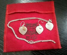 Me & Ro 10K Gold Silver Lotus Petal Pendant with Chain Necklace and Earrings Set