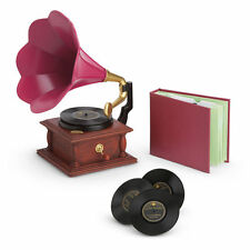 American Girl Rebecca's Phonograph Set BEFOREVER NEW IN BOX Christmas Holiday