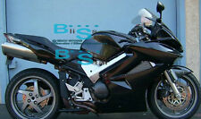 Black Glossy ABS Fairing With Tank Cover Fit HONDA VFR800 2002-2012 29 A1